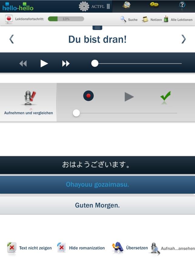 Japanisch Lernen Hello Hello Im App Store