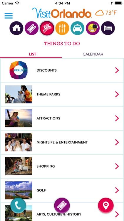 Visit Orlando Destination App screenshot-3