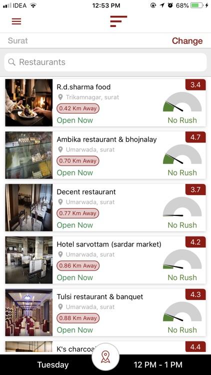 ywait - Restaurant Finder screenshot-6