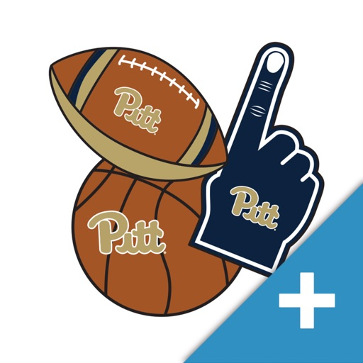 Pittsburgh Panthers PLUS Selfie Stickers