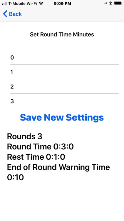 Work Out Round Timer