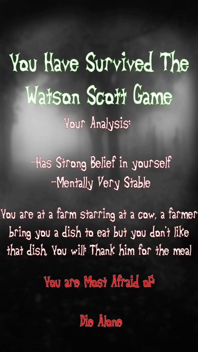 Screenshot #8 for The Test of Watson Scott Game