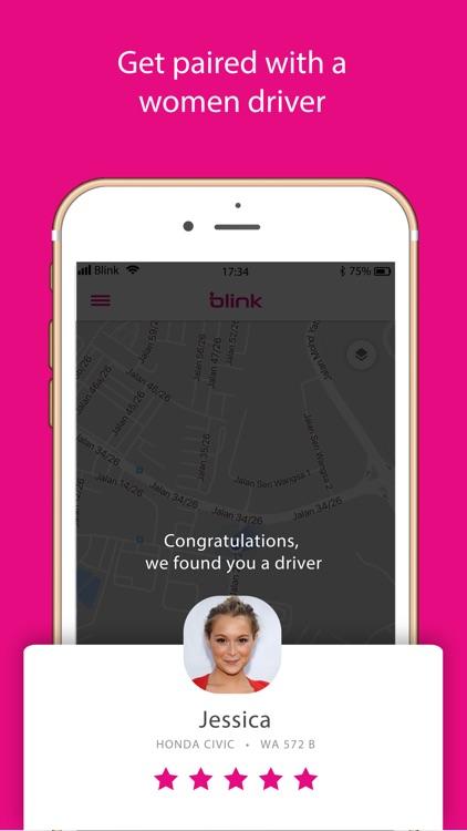 Blink - Ridesharing for women