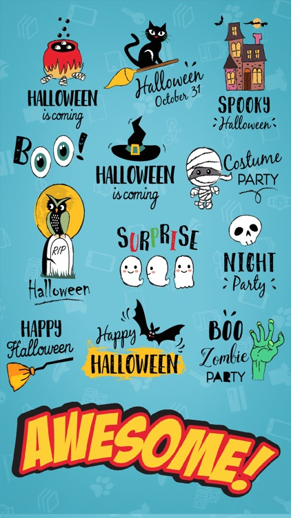 Halloween Festival Stickers screenshot-1