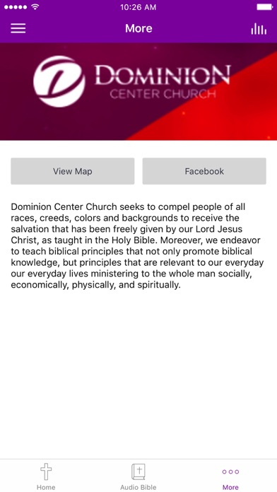 The Dominion Center Church SD screenshot 3
