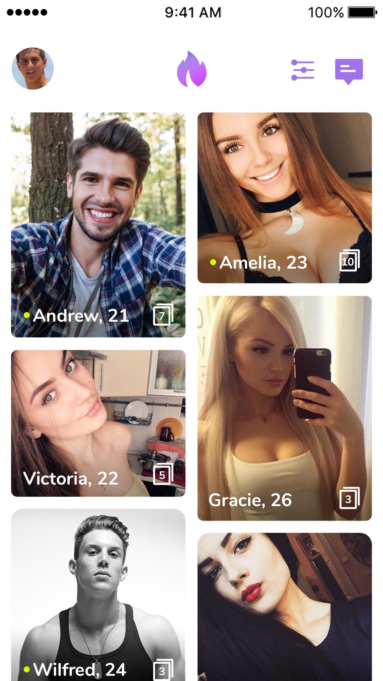 Hook Up Dating - Hookup App Screenshot
