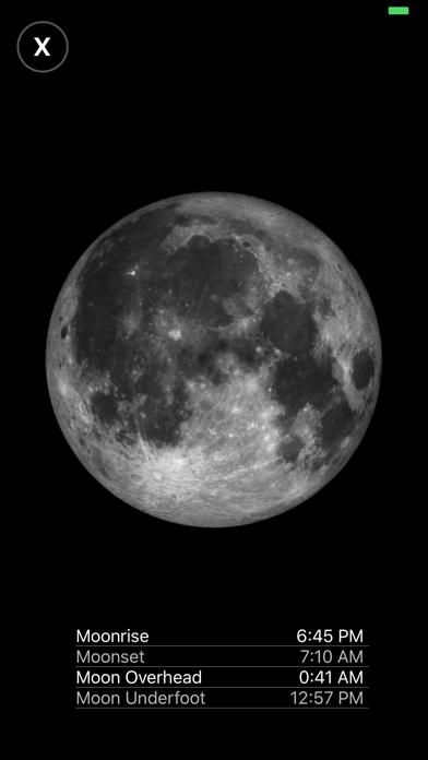 Moon Phase Calendar Pro screenshot 3