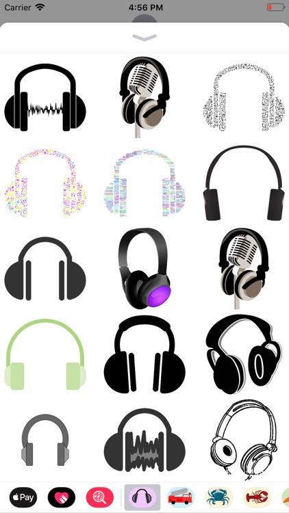 Headphone Stickers