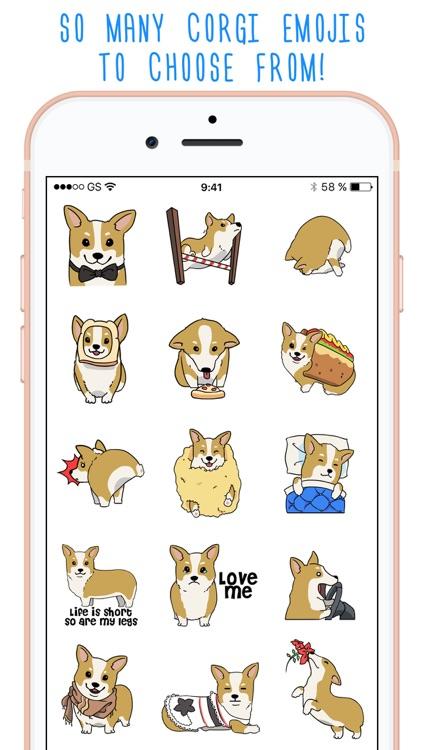 CorgMoji Corgi Emoji Stickers