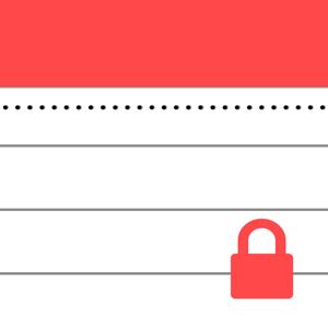 Secure Notepad app