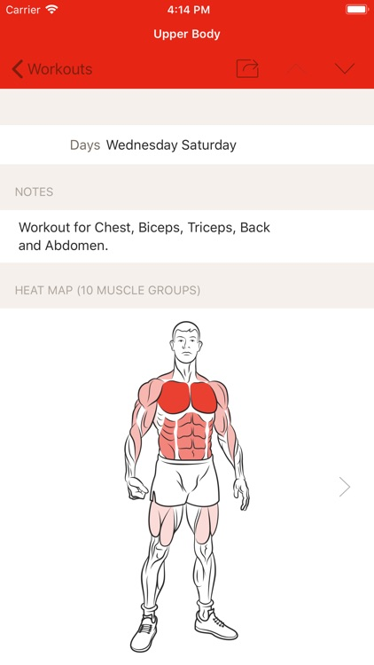 GymBook - Strength training screenshot-3