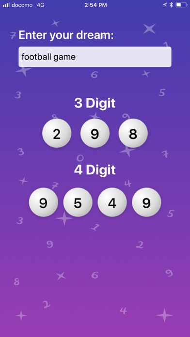 iDreamIt Lucky Numbers - AppRecs