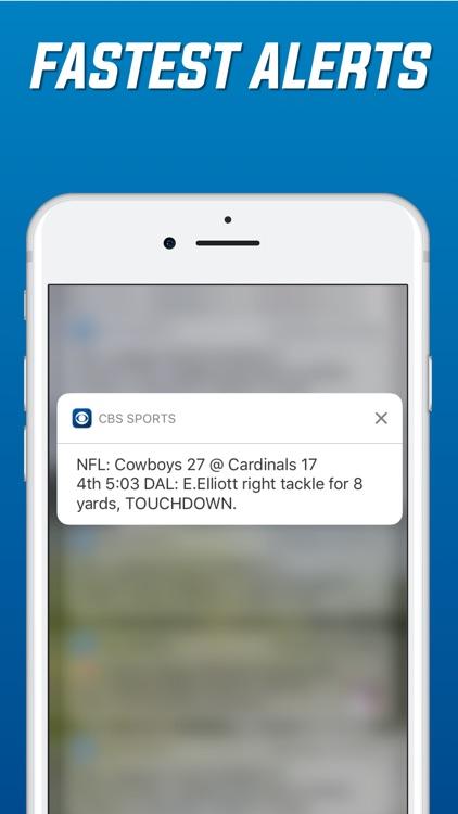 CBS Sports Scores & News screenshot-4