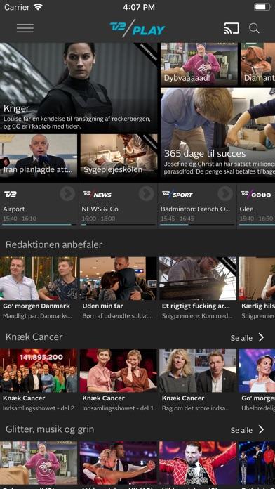 Screenshot for TV 2 PLAY in Denmark App Store