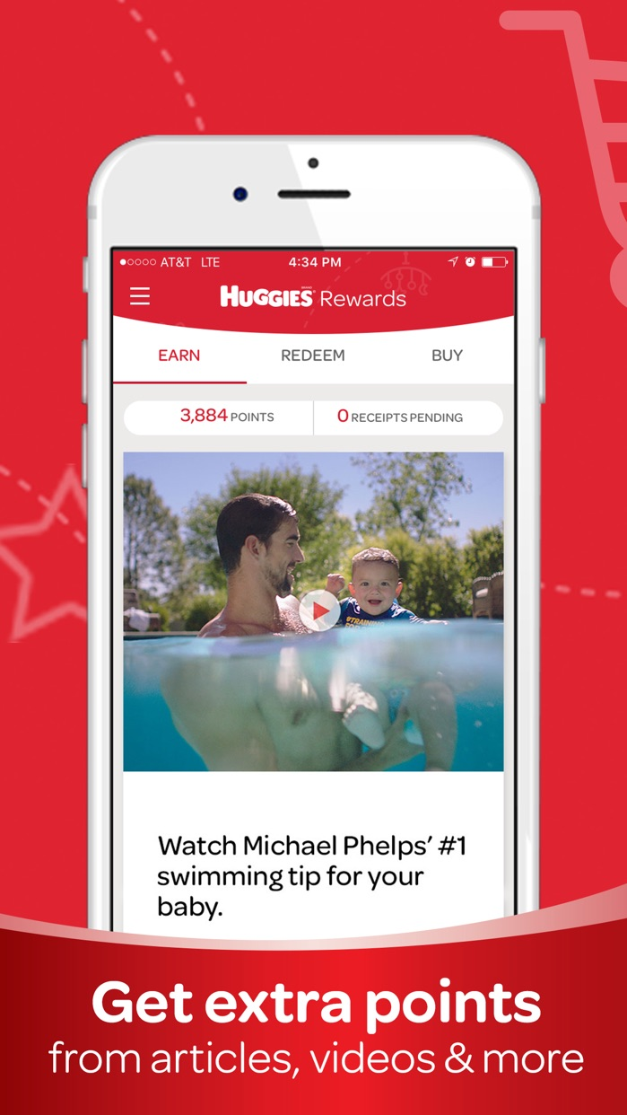 Huggies® Rewards App Screenshot