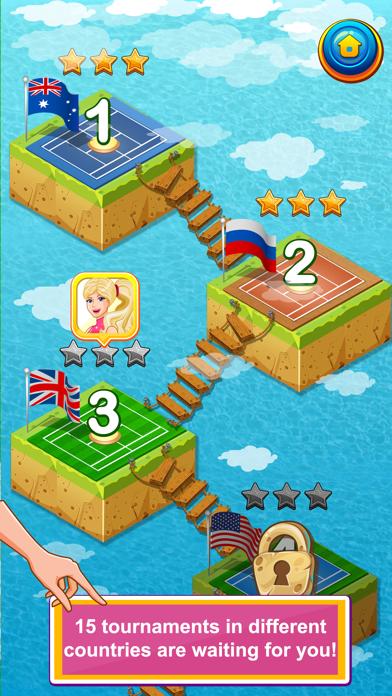 Amazing Princess Tennis Pro screenshot three