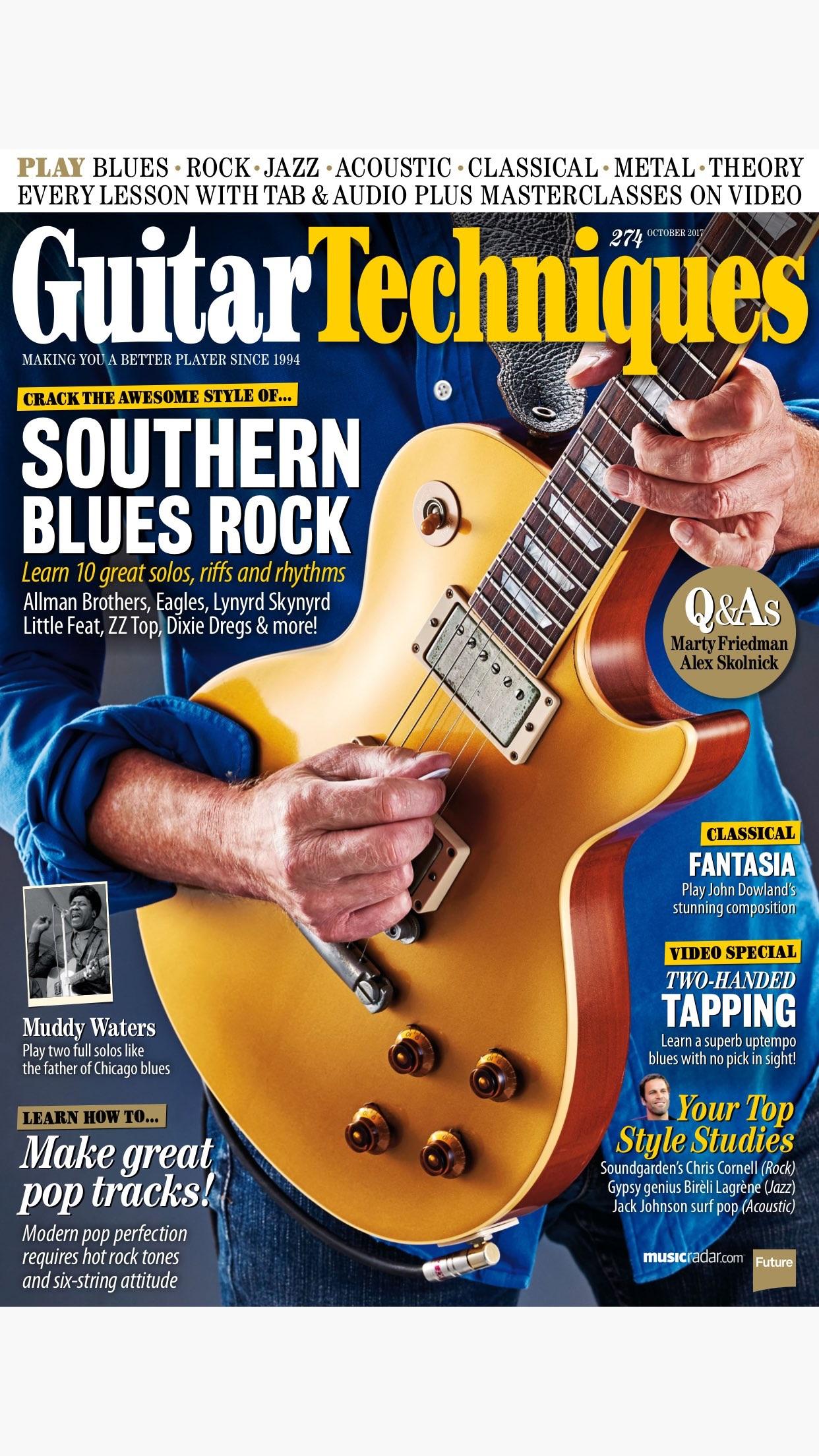 Guitar Techniques: the technical guitar magazine Screenshot