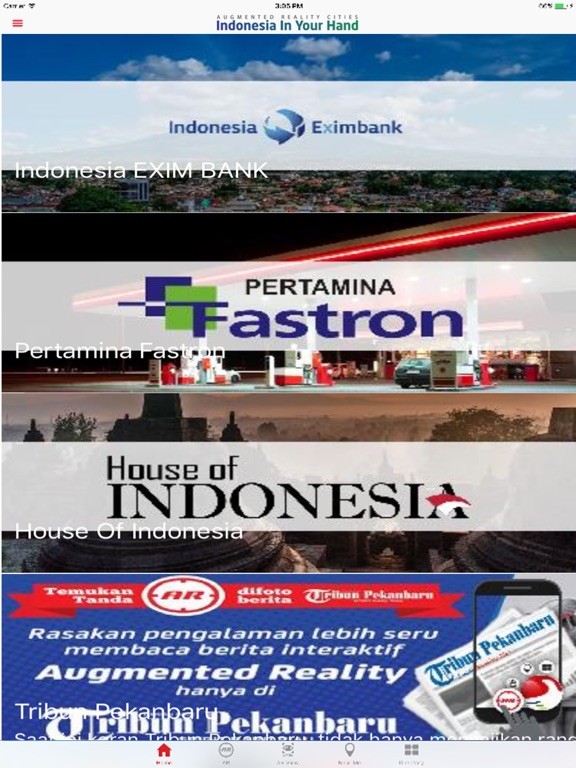 Indonesia In Your Hand iPad