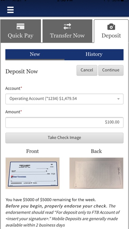 First Tennessee Mobile Banking screenshot-3