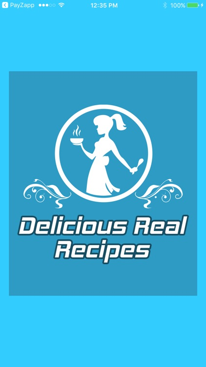 Delicious Real Recipes screenshot-0