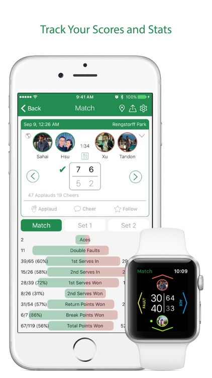 Swing Tennis Score Tracker