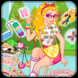 Bike Summer Outfit - Girl game