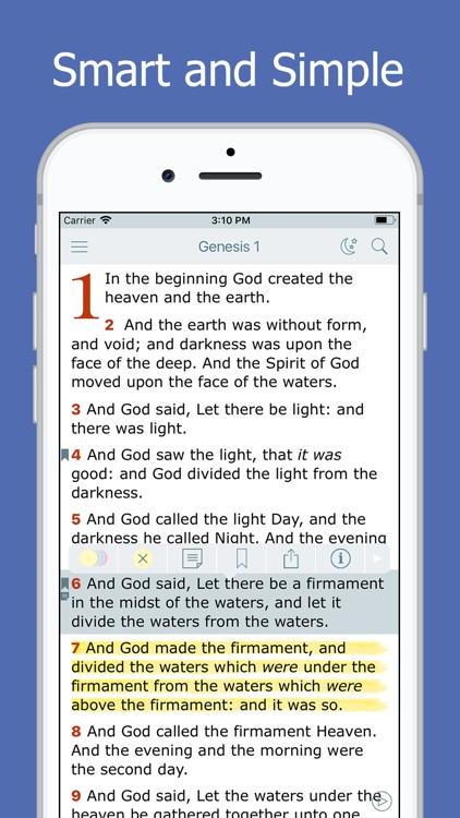 Holy Bible - Daily Reading screenshot-0