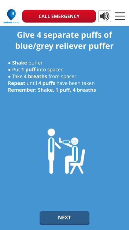 Asthma Aust Asthma First Aid screenshot-3