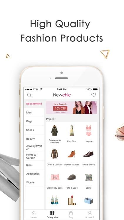 Newchic-Fashion Shopping screenshot-3