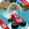 Beach Driving Buggy Water Surfer : Simulation