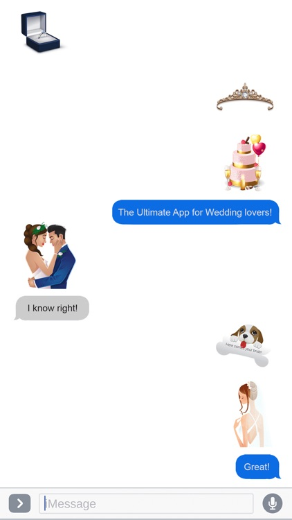 WeddingMoji - Wedding Emojis & Stickers screenshot-3