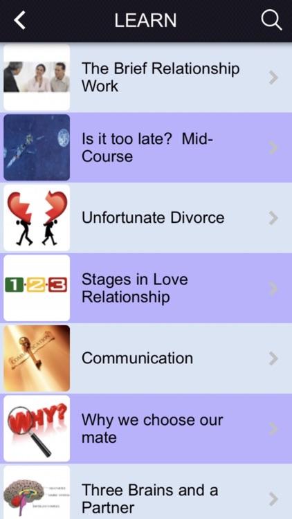 Relationship-Help APP