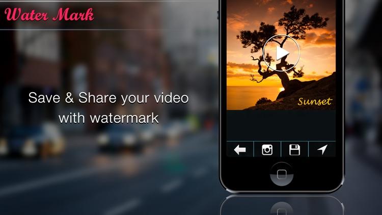 Video Watermark Edit screenshot-4