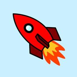Rocket Sticker Pack
