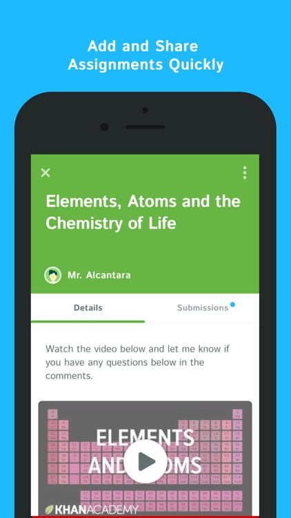 Collaborative Classroom App ~ Kiddom collaborative classroom by
