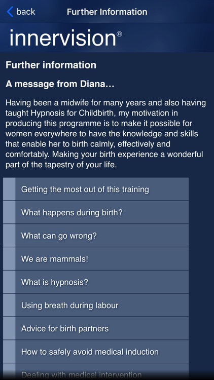 Hypnosis for Childbirth screenshot-3