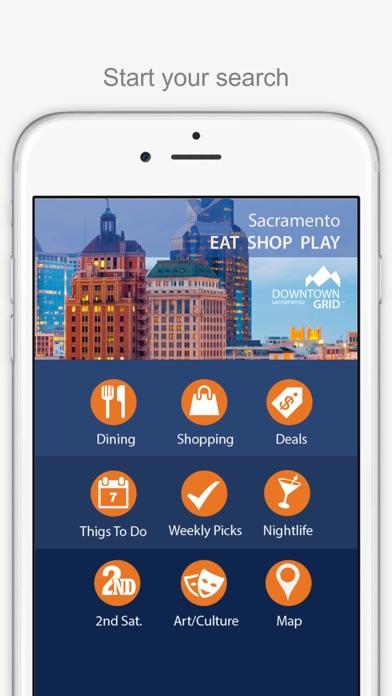 Sacramento Grid Screenshot