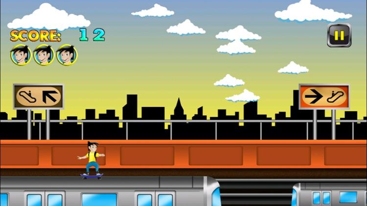 Subway Skater vs Skate Surfers