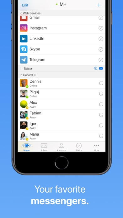 IM+ Pro for Facebook,... screenshot1