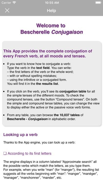 Bescherelle Conjugaison screenshot-5