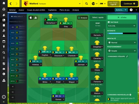 Screenshot #4 pour Football Manager Touch 2018
