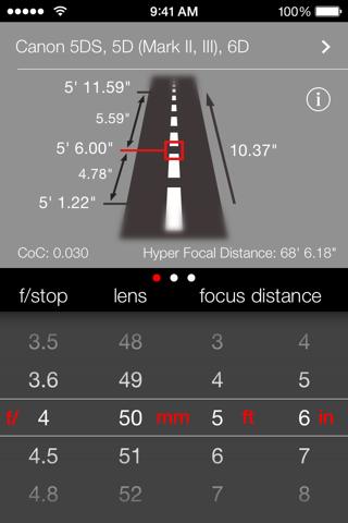 Simple DoF Calculator screenshot 1