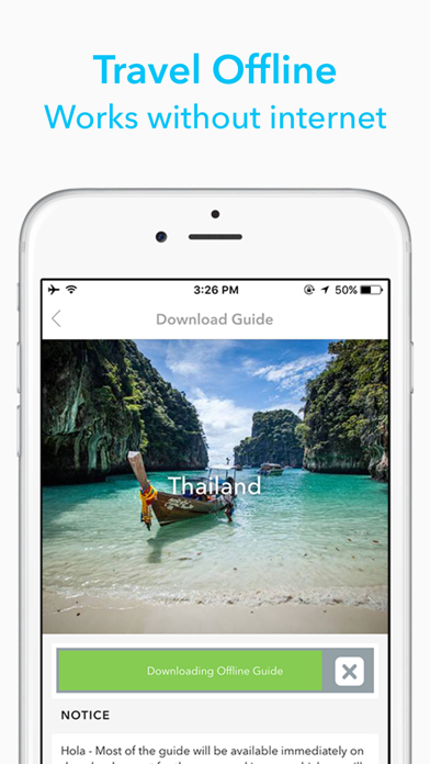 Colombia Travel Guide by Triposo screenshot one
