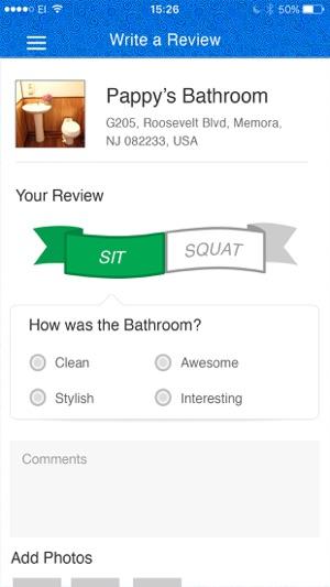 SitOrSquat: Restroom Finder on the App Store