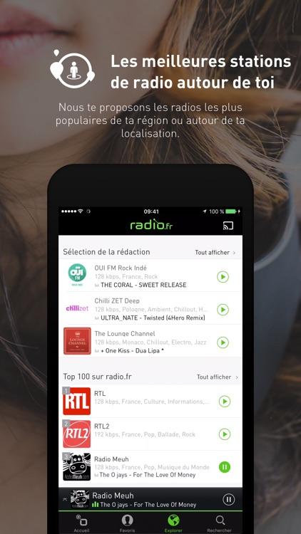 radio.fr Musique, Radios, FM screenshot-3