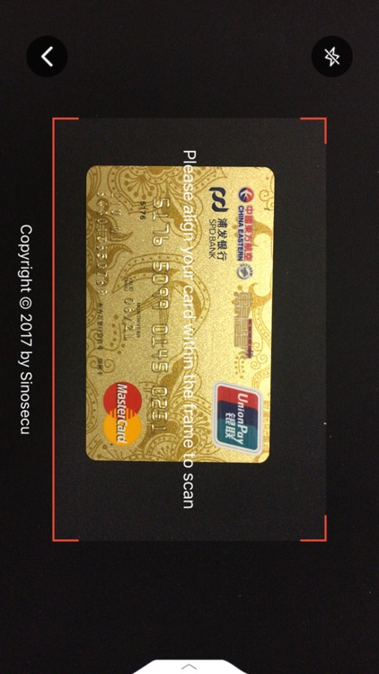 Sinosecu Bank Card Reader