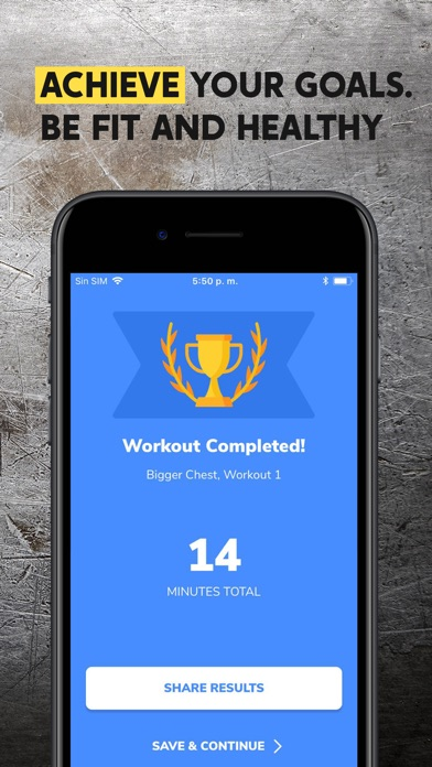 BetterMen: Workout Trainer Screenshot 6