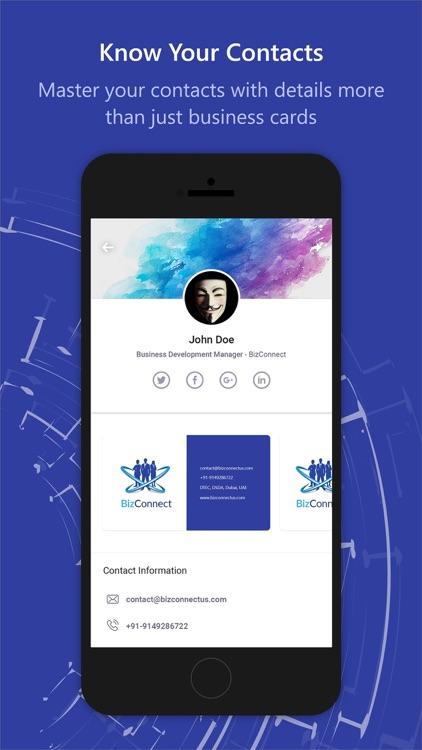 BizConnect BusinessCard Reader screenshot-6