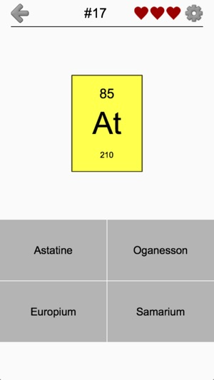 Elements and periodic table on the app store urtaz Choice Image