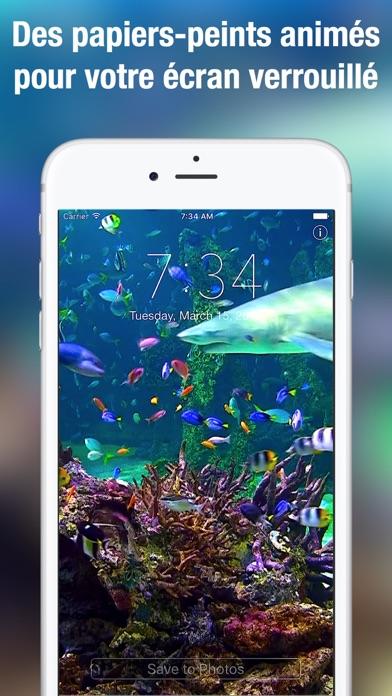 download Aquarium Fond d'écran animé apps 4
